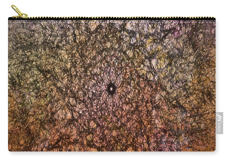 Pink Carry-all Pouch featuring the photograph Mystic Spring by Teresa Wilson
