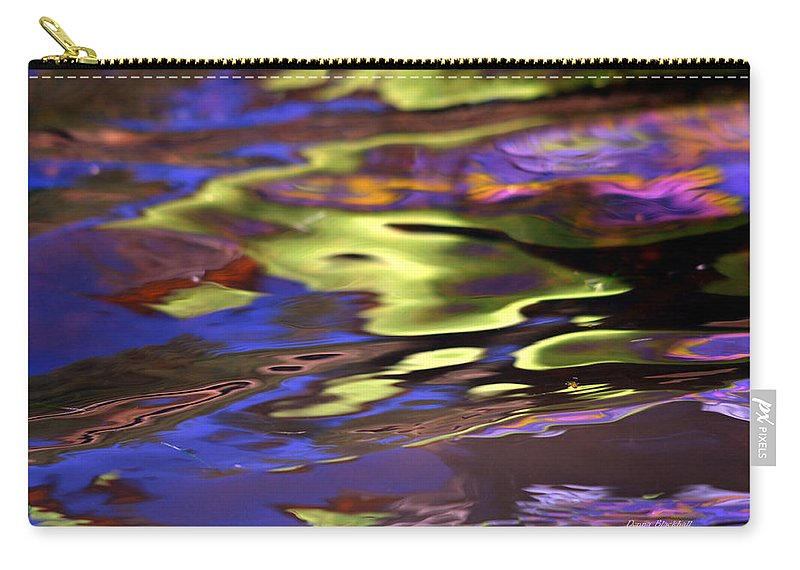 Water Carry-all Pouch featuring the photograph Mystic Topaz by Donna Blackhall