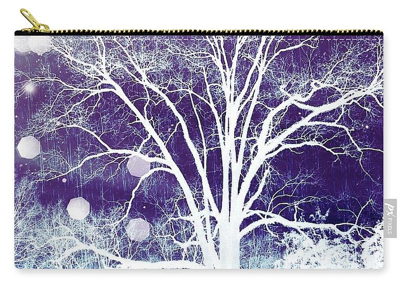 Mystical Carry-all Pouch featuring the photograph Mystical Dreamscape by Rachel Hannah
