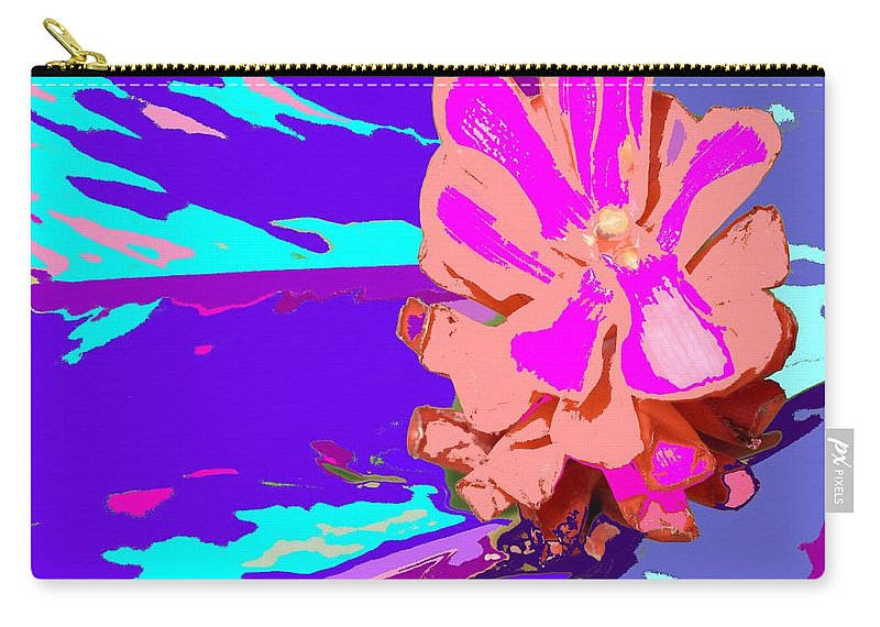 Flower Carry-all Pouch featuring the photograph Mystical Flower by Ian MacDonald