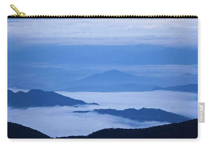 View Carry-all Pouch featuring the photograph Mystique by Andrew Paranavitana