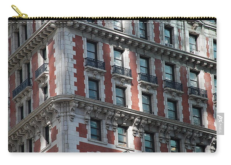 New York City Carry-all Pouch featuring the photograph N Y C Architecture by Rob Hans