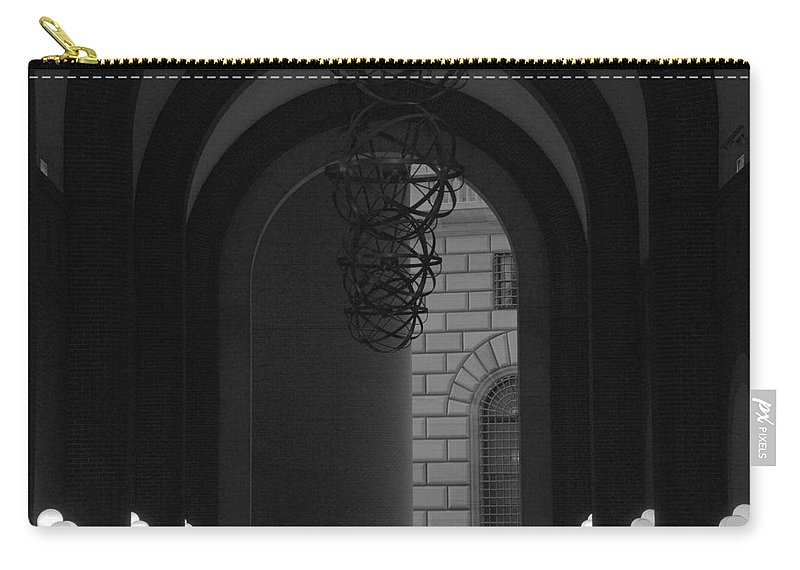New York City Carry-all Pouch featuring the photograph N Y C Lighted Arch by Rob Hans