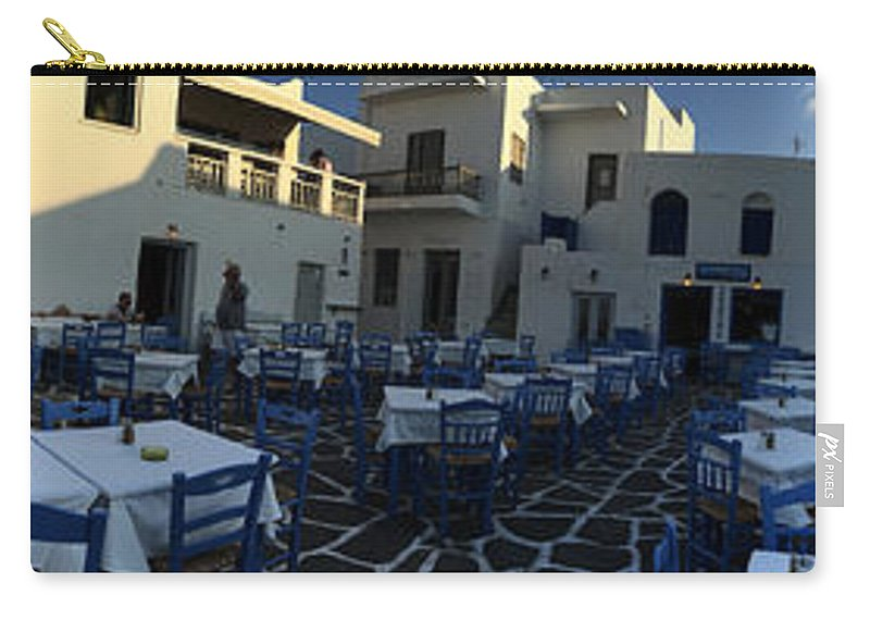 Colette Carry-all Pouch featuring the photograph Naoussa Village Paros Greece by Colette V Hera Guggenheim