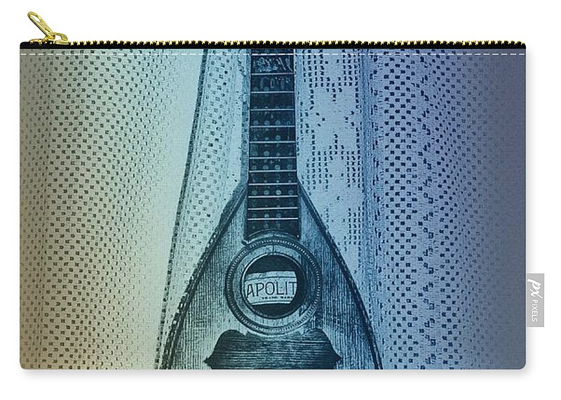 Napolitan Carry-all Pouch featuring the photograph Napolitan Mandolin by Bill Cannon