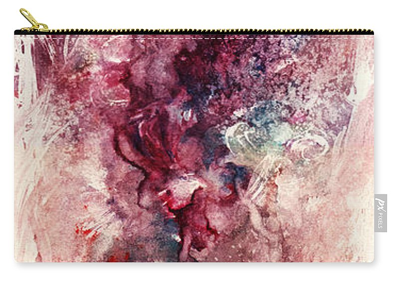 Floral Carry-all Pouch featuring the painting Narcissus by Rachel Christine Nowicki