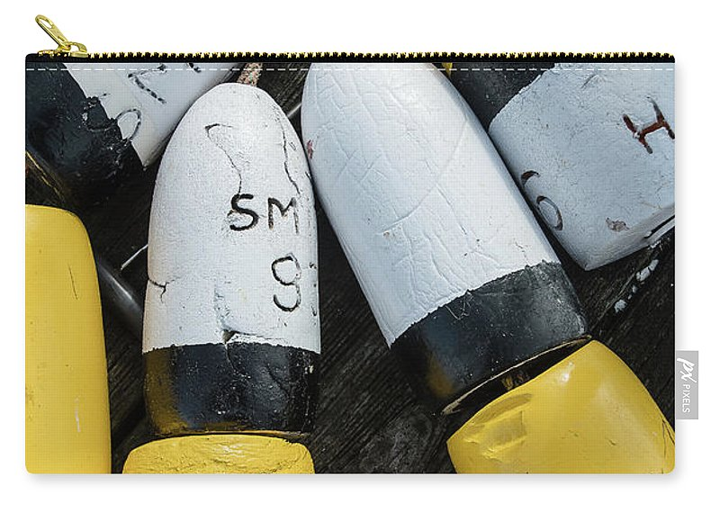 Ocean Carry-all Pouch featuring the photograph Narragansett Buoys by Terri Mongeon