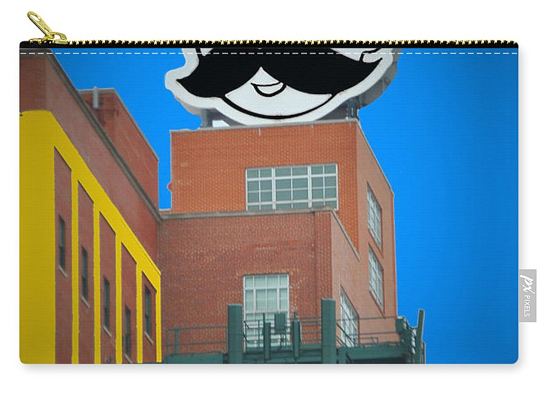 Gunther Carry-all Pouch featuring the photograph Natty Boh Skyline by Jost Houk