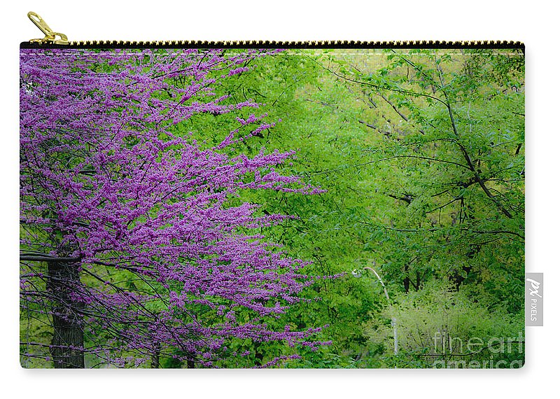 Spring Carry-all Pouch featuring the photograph Natural Background by Anna Serebryanik