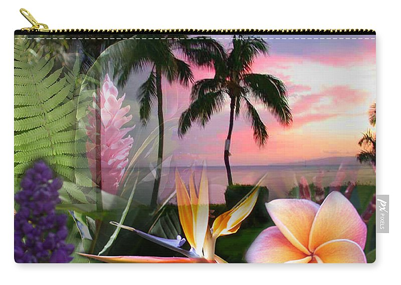 Bird Of Paradise Carry-all Pouch featuring the photograph Natural Beauty by Angie Hamlin