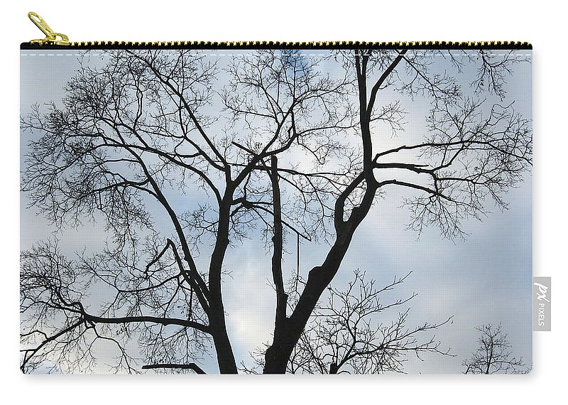 Nature Carry-all Pouch featuring the photograph Nature - Tree in Toronto by Munir Alawi