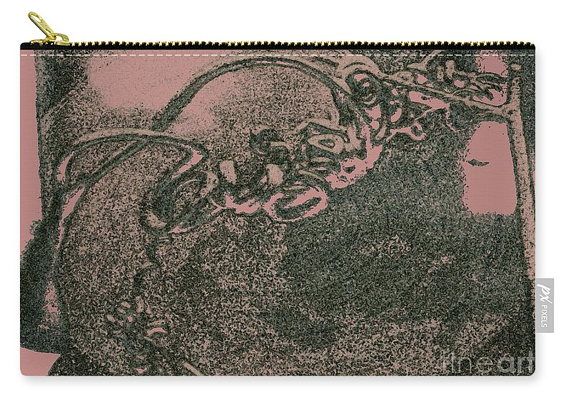 Nature Art Photography Carry-all Pouch featuring the photograph Nature Art by Kim Henderson