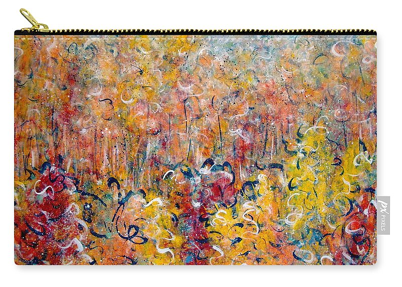 Autumn Carry-all Pouch featuring the painting Nature by Natalie Holland