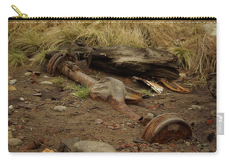 Nature Carry-all Pouch featuring the photograph Nature Wins by Cindy Johnston