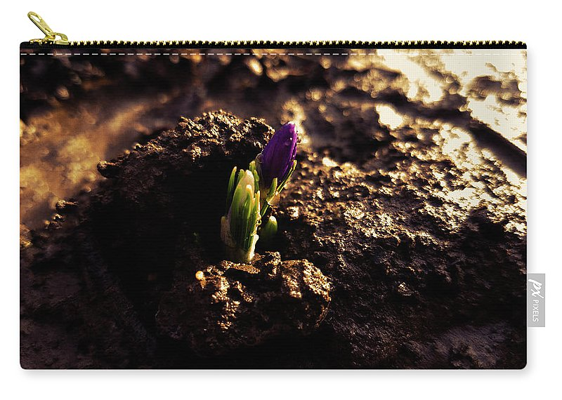 Nature Carry-all Pouch featuring the photograph Nature Wins Every Time by Canache Andrei