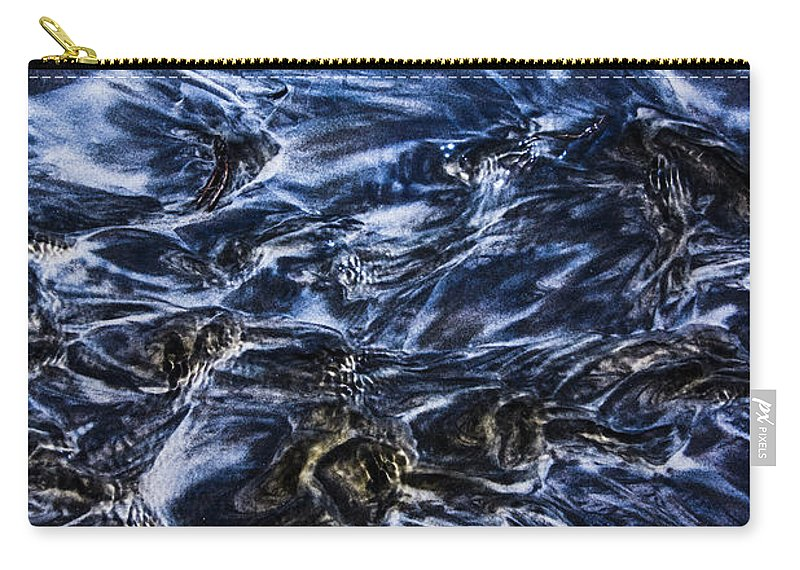 Sea Carry-all Pouch featuring the photograph Natures Abstract by Jorgo Photography - Wall Art Gallery