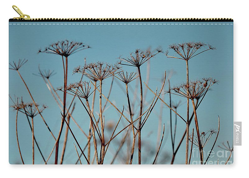 Weeds Carry-all Pouch featuring the photograph Natures Beauty by Kate Sadler
