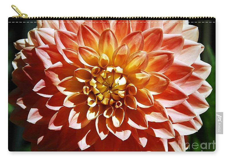 Flower Carry-all Pouch featuring the photograph Nature's Brilliance by David Lee Thompson