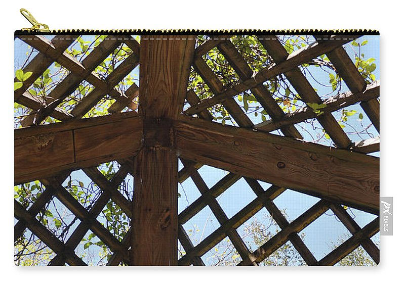John Knapko Carry-all Pouch featuring the photograph Nature's Cross by John Knapko