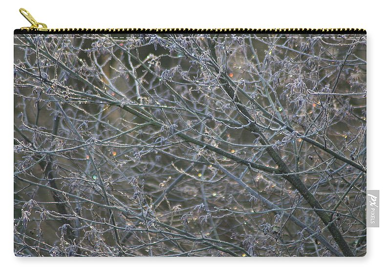 Tree Carry-all Pouch featuring the photograph Natures Fairy Lights by Hannah Goddard-Stuart