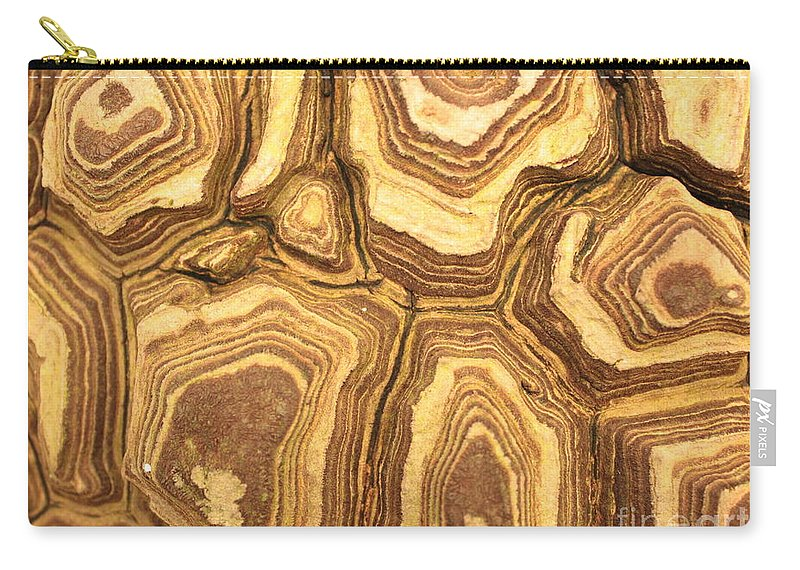 Nature Carry-all Pouch featuring the photograph Nature's Interesting Patterns by Carol Groenen