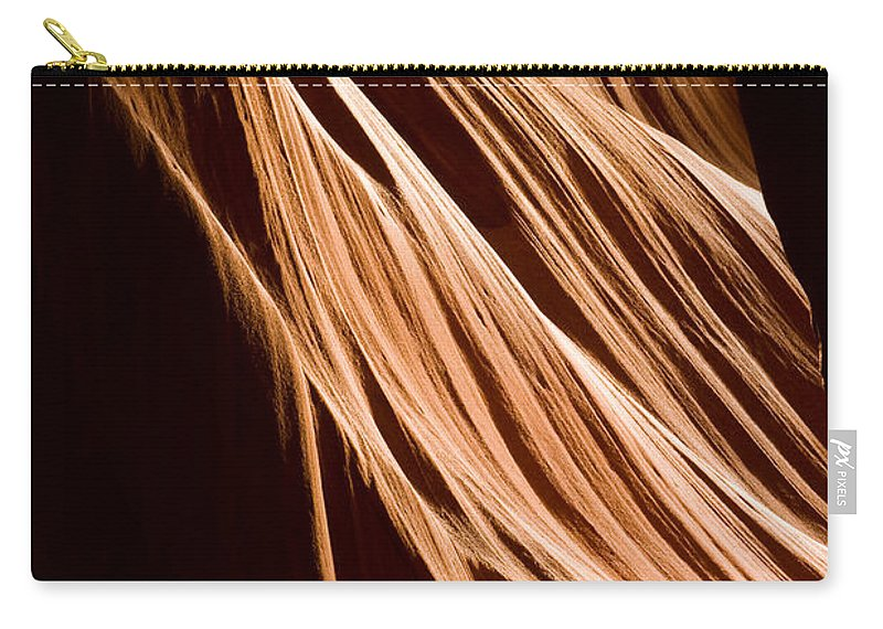 3scape Photos Carry-all Pouch featuring the photograph Natures Lines by Adam Romanowicz