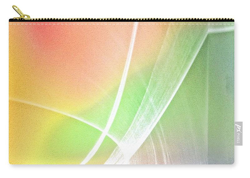 Nature Has Brought Me A New Light Over My Head Carry-all Pouch featuring the photograph Nature's New Art Over My Head New Years Morning 2014 by Phyllis Kaltenbach