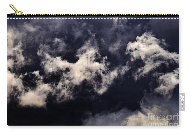Clay Carry-all Pouch featuring the photograph Natures Paint Daubs by Clayton Bruster