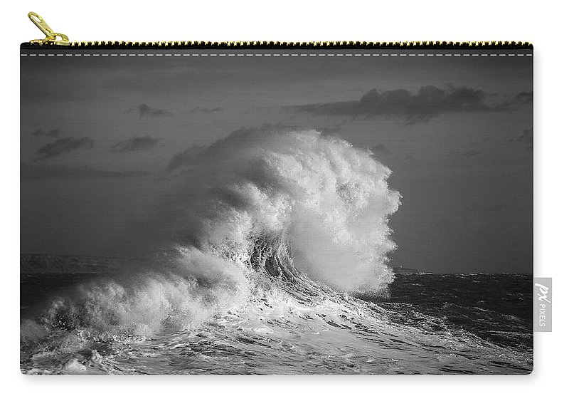 Coast Carry-all Pouch featuring the photograph Natures Power by Rich Wiltshire