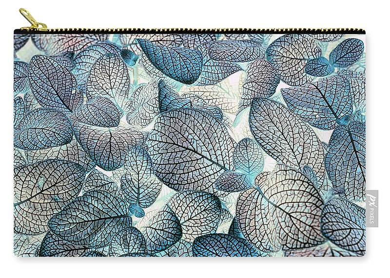 Leaves Carry-all Pouch featuring the photograph Nature's Tracery by Wayne Sherriff