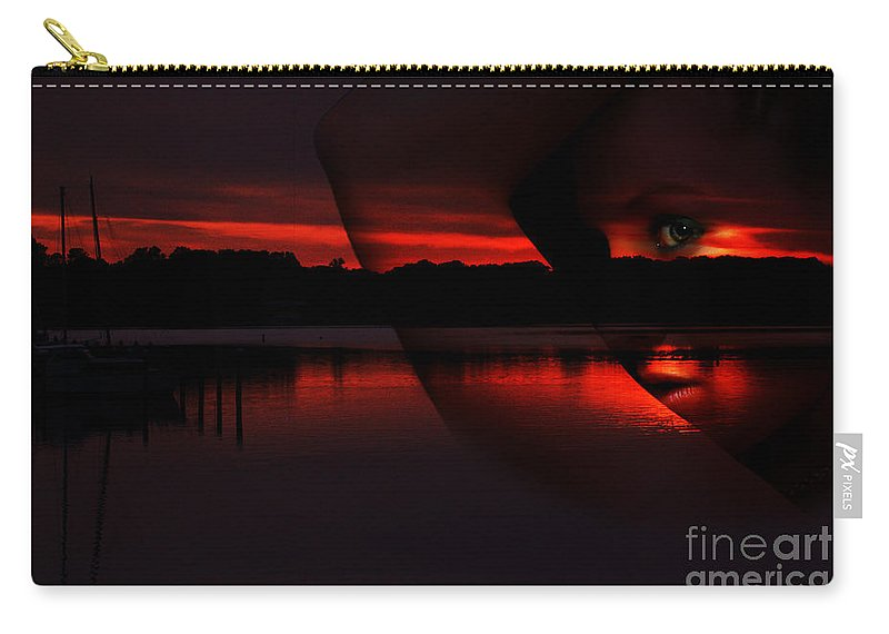 Clay Carry-all Pouch featuring the photograph Nautical Goddess by Clayton Bruster