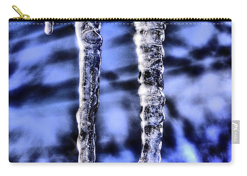 Icicles Carry-all Pouch featuring the photograph Nautilus by September Stone