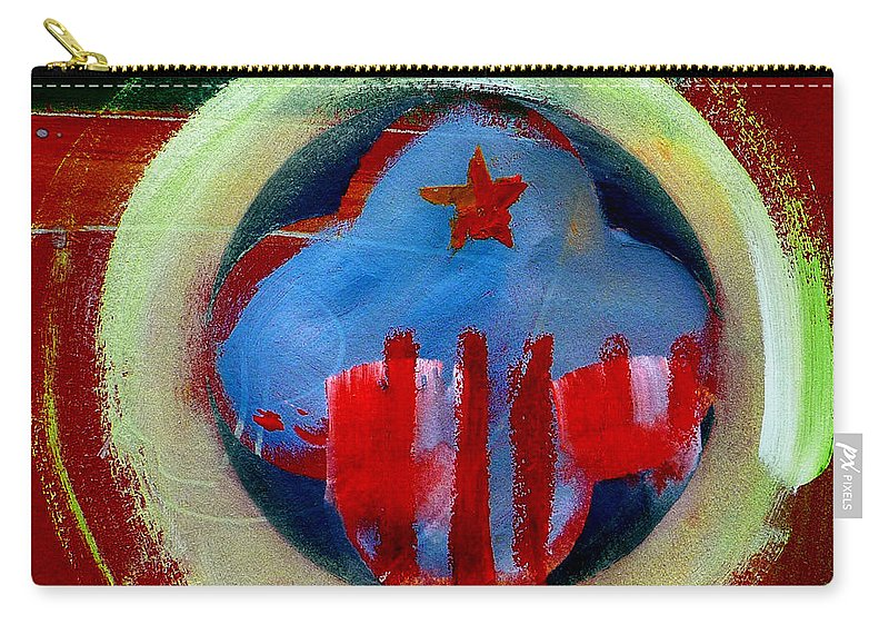American State Carry-all Pouch featuring the painting Nebraska by Charles Stuart