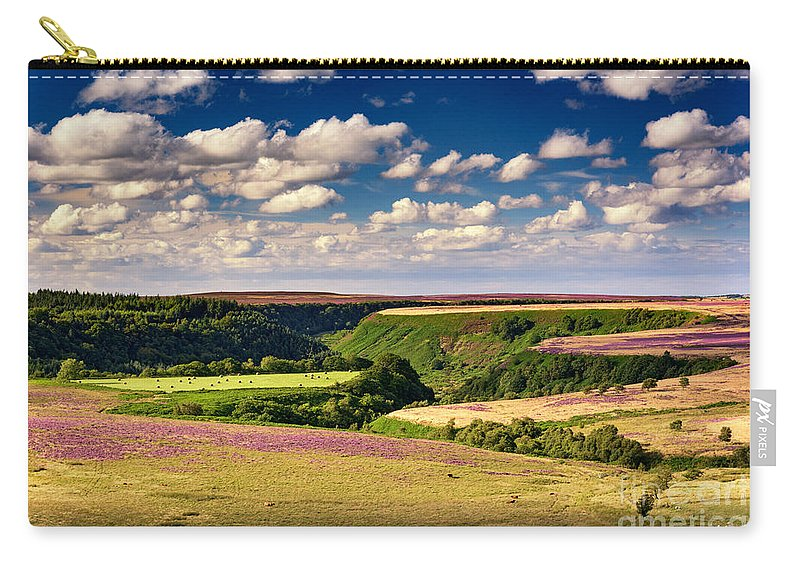 Landscape Carry-all Pouch featuring the photograph Needle Point From Saltersgate by Richard Burdon