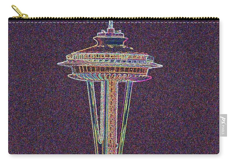 Seattle Carry-all Pouch featuring the photograph Needle by Tim Allen