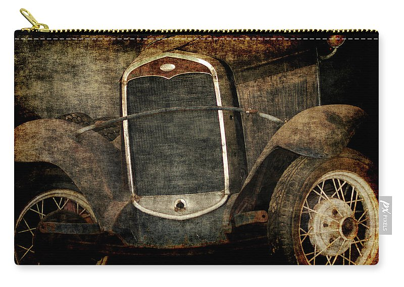 Old Fords Carry-all Pouch featuring the photograph Needs Help by Ernie Echols