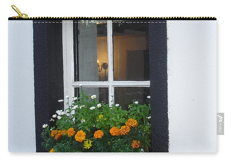 Window Carry-all Pouch featuring the photograph Neighbor by Kelly Mezzapelle