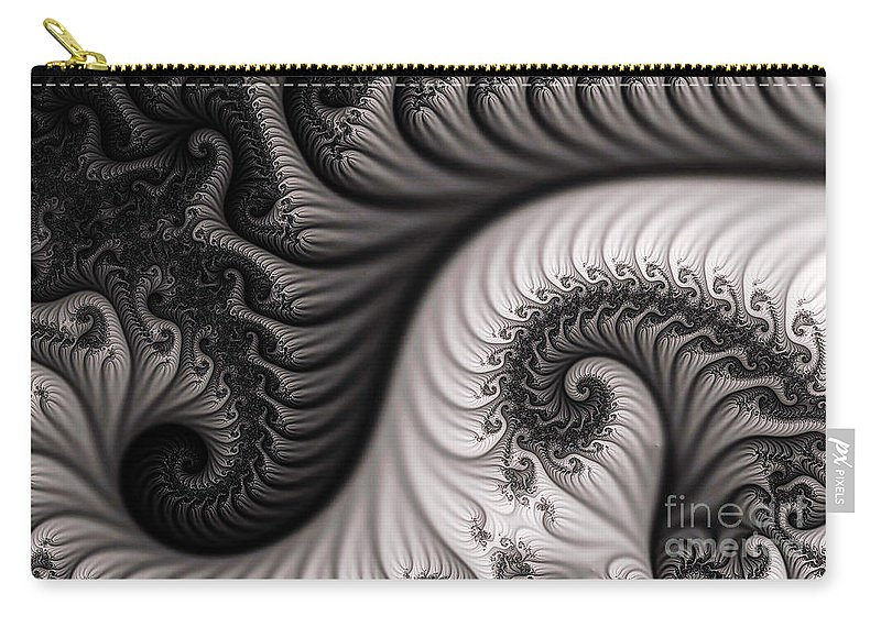 Clay Carry-all Pouch featuring the digital art Neighborhood by Clayton Bruster