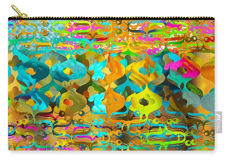 Abstract Carry-all Pouch featuring the digital art Nemo by Ceil Diskin