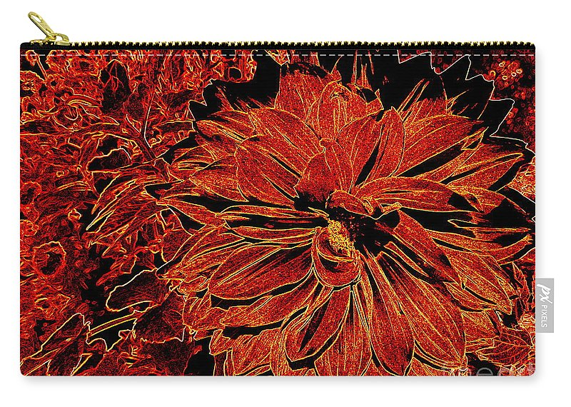 Digital Carry-all Pouch featuring the photograph Neon Nature by Ed Weidman