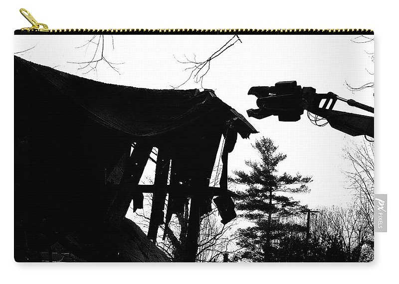Machine Carry-all Pouch featuring the photograph Nessie by Jean Macaluso