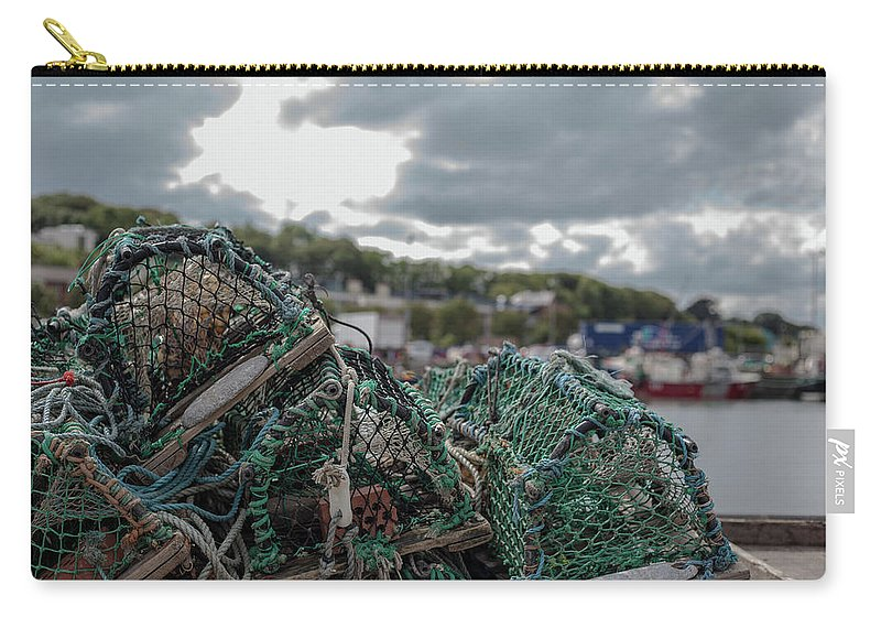 50mm Carry-all Pouch featuring the photograph Net by Anton Lucic