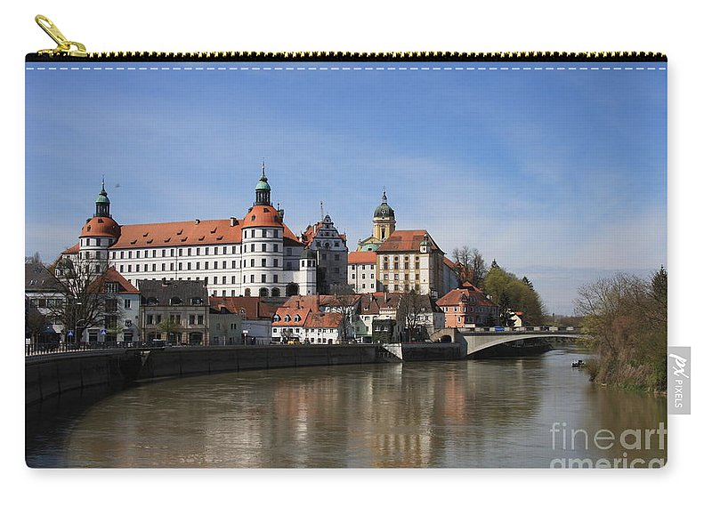 River Carry-all Pouch featuring the photograph Neuburg Donau - Germany by Christiane Schulze Art And Photography