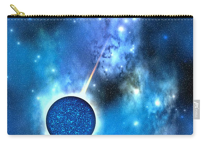 Neutron Star Carry-all Pouch featuring the painting Neutron Star by Corey Ford