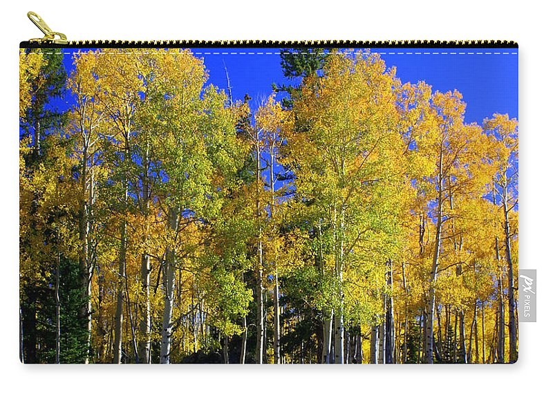 Fall Colors Carry-all Pouch featuring the photograph Nevada Fall by Marty Koch