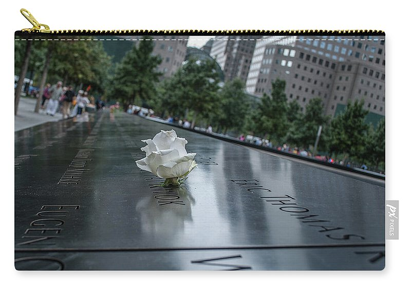 Nyc Carry-all Pouch featuring the photograph Never Forget by Kenny Kunzman