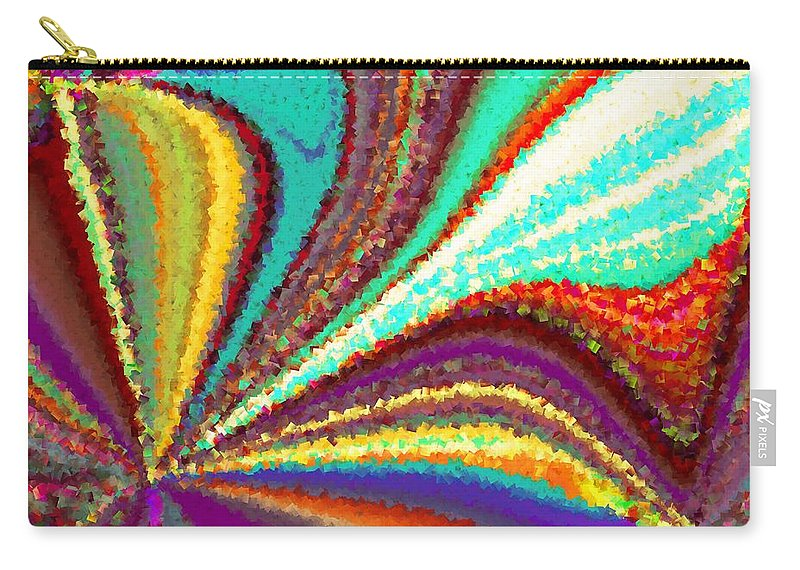 New Carry-all Pouch featuring the digital art New Beginning by Tim Allen