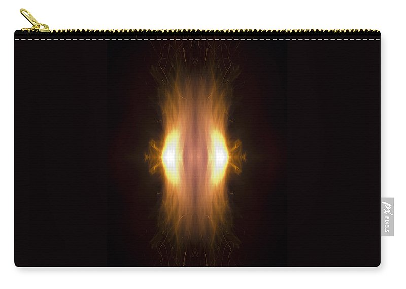 Flame Carry-all Pouch featuring the photograph New Born by Munir Alawi