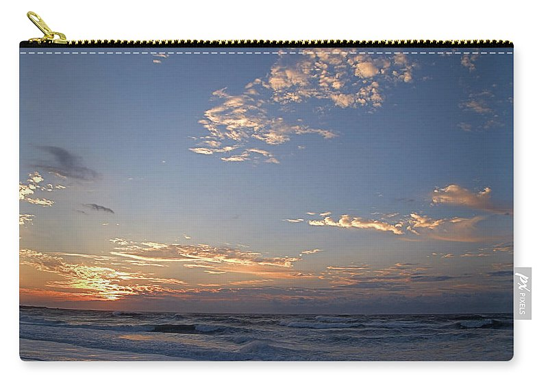 Seas Carry-all Pouch featuring the photograph New Dawn by Newwwman