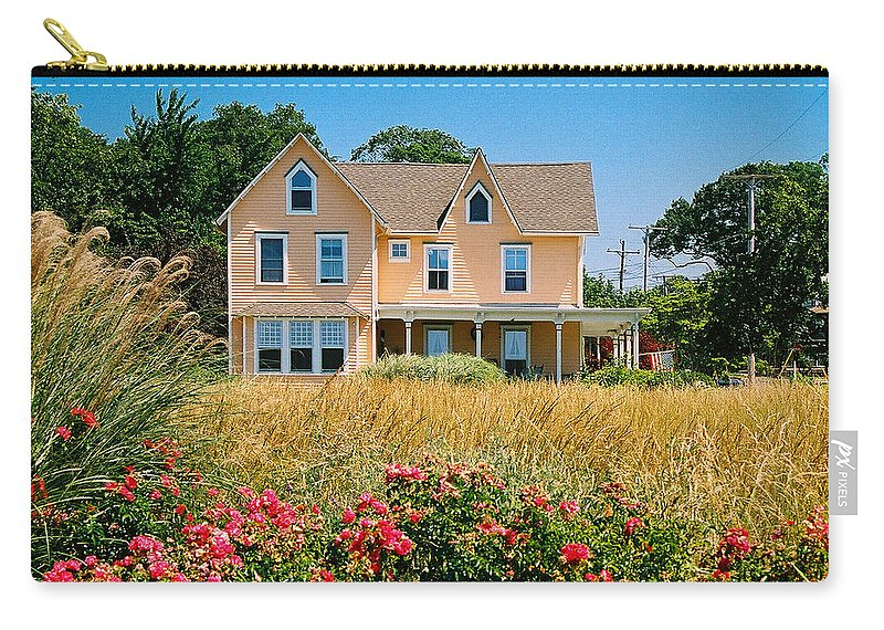 Landscape Carry-all Pouch featuring the photograph New Jersey Landscape by Steve Karol